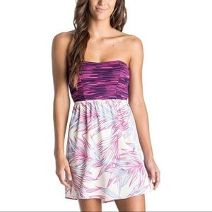 Roxy🌸Strapless Floral Dress | Small